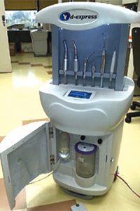 Consultório odontológico portátil